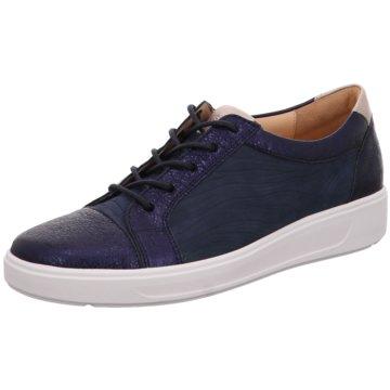 Ganter Sneaker Low blau
