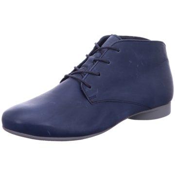 Think Komfort Stiefelette blau