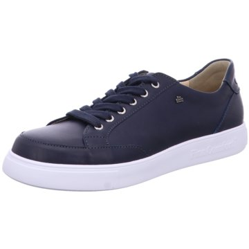 FinnComfort Komfort Schnürschuh blau