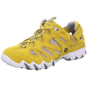 Allrounder Outdoor Schuh gelb
