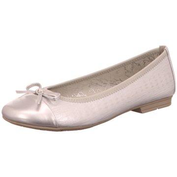 Jana Klassischer Ballerina weiß