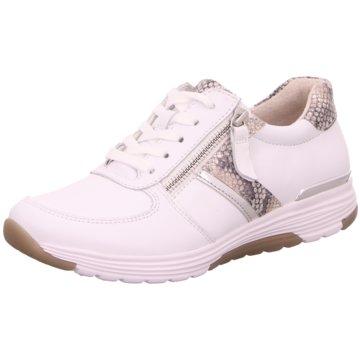 Gabor Komfort SchnürschuhSneaker weiß