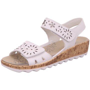 Romika Komfort Sandale weiß