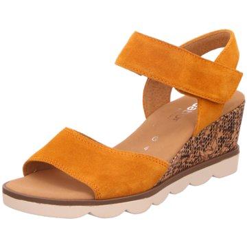 Gabor Komfort Sandale orange