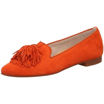 Paul Green Klassischer Slipper2376 orange