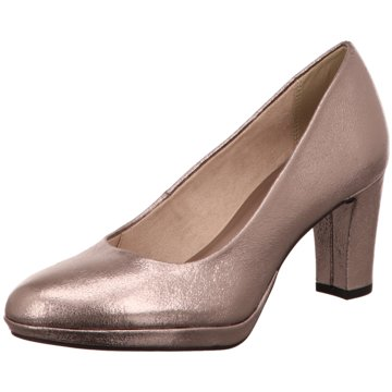 Tamaris Plateau Pumps gold