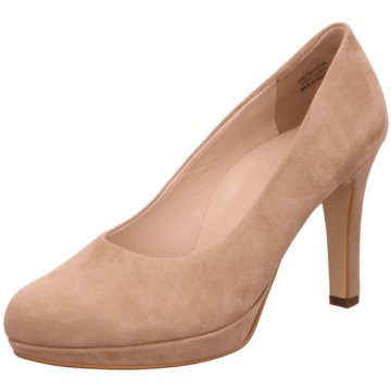 Paul Green Plateau Pumps braun