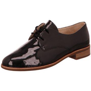 Remonte Eleganter Schnürschuh schwarz