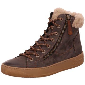 Paul Green Sneaker High4676 braun