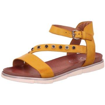 Mjus Sandale gelb