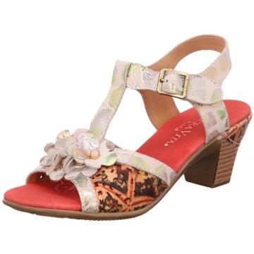 Estelle Komfort Sandale weiß