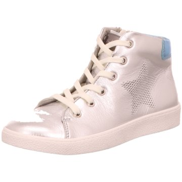 Richter Sneaker High silber