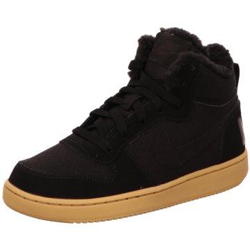 Nike Plateau Sneaker schwarz