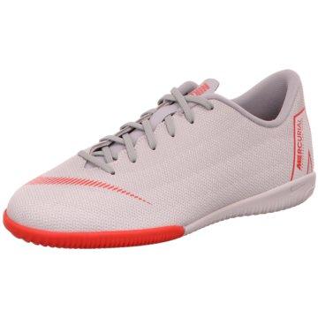 Nike Trainings- und HallenschuhJr. Mercurial Vapor 12 Academy IC grau