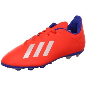 adidas FußballschuhX 18.4 FxG J rot