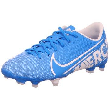 Nike FußballschuhJR VAPOR 13 ACADEMY FG/MG blau