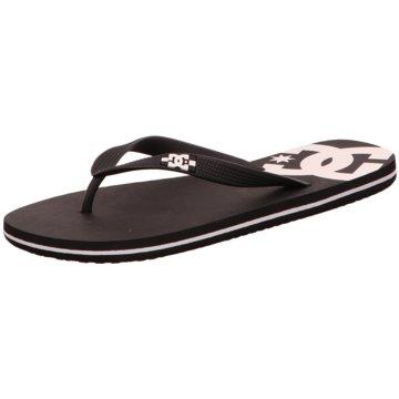 DC Shoes Bade-Zehentrenner schwarz