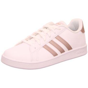 adidas Sneaker LowGRAND COURT K - EF0101 weiß