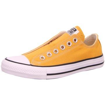 Converse Sportlicher Slipper gelb