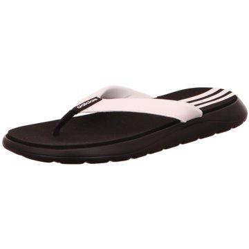 adidas Bade- Zehentrenner schwarz
