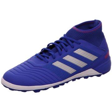 adidas Multinocken-SohlePredator Tango 19.3 TF Fußballschuh - BB9084 blau