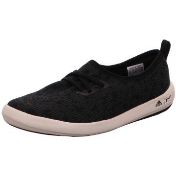adidas Sportlicher SchnürschuhTerrex CC Boat Sleek Parley Women schwarz