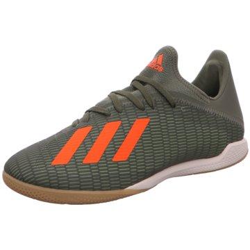 adidas Hallen-SohleX 19.3 IN grün