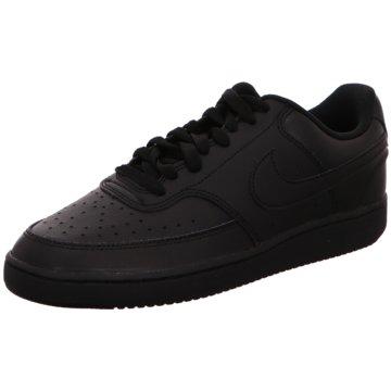 Nike Sneaker LowCOURT VISION LOW - CD5463-002 schwarz