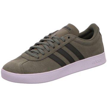 adidas Sneaker LowVL Court 2.0 Suede oliv