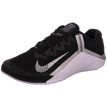 Nike TrainingsschuheMETCON 6 - AT3160-010 schwarz