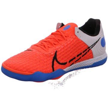 Nike Hallen-SohleNike React Gato Indoor/Court Soccer Shoe - CT0550-604 orange