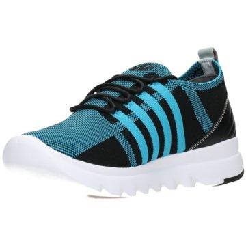Wolky Sportlicher Schnürschuh blau
