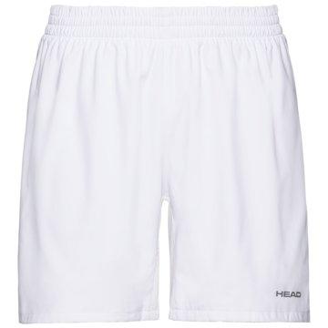 Head TennisshortsCLUB SHORTS M - 811379 weiß