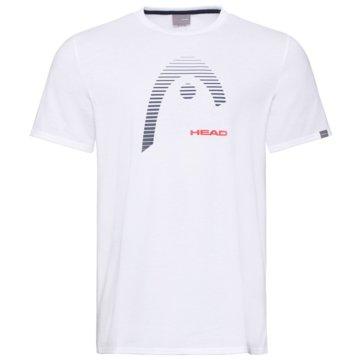 Head T-ShirtsCLUB CARL T-SHIRT M - 811489 weiß