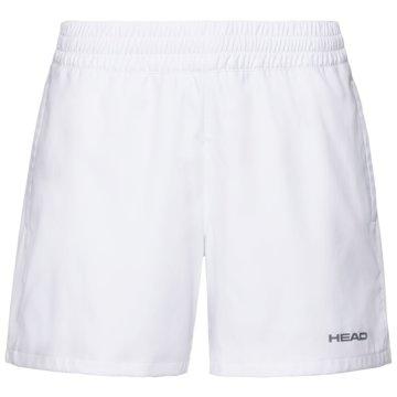 Head TennisshortsCLUB SHORTS W - 814379 weiß