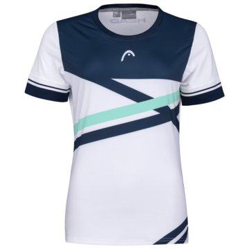 Head T-ShirtsPERF T-SHIRT W - 814561 weiß