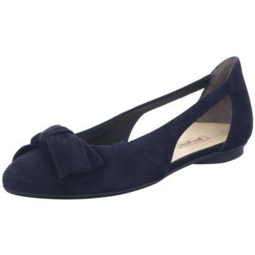 Paul Green Riemchen Ballerina blau