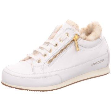Candice Cooper Sneaker LowRockDeluxeZip weiß