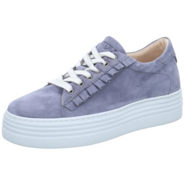 Mjus Plateau Sneaker blau
