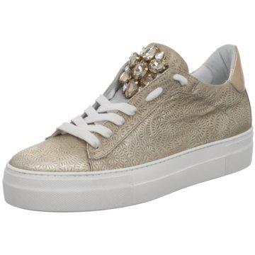 Donna Carolina Sneaker Low gold