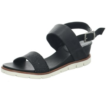 MACA Kitzbühel Sandalette schwarz