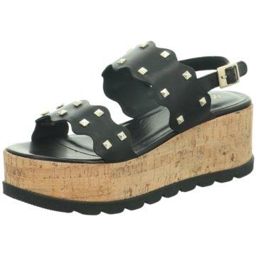 Marc Cain Top Trends Sandaletten schwarz