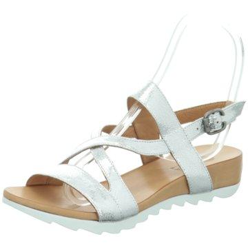 MACA Kitzbühel Sandale silber