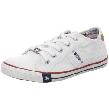 Mustang Sneaker Low5 weiß