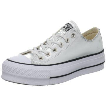 Converse Plateau Sneaker silber