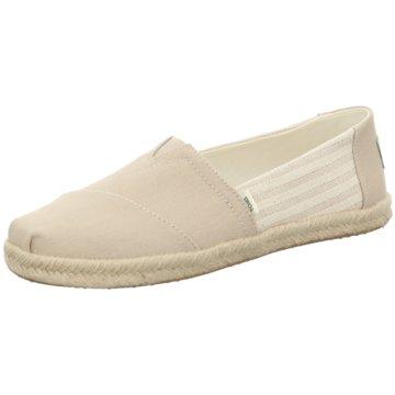 TOMS Top Trends Slipper beige