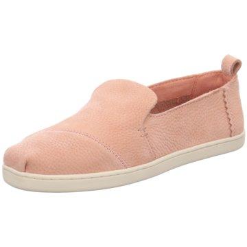 TOMS Espadrille pink