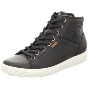Ecco Sneaker HighSoft 7 Ladies schwarz