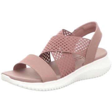 Skechers Komfort Sandale rosa
