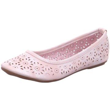 Hengst Footwear Faltbarer Ballerina rosa